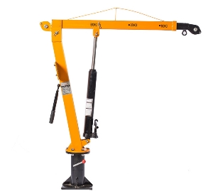 High Quality Electric Hydraulic Davit Crane/Car Mounted Mini Cranes/Vehicle-Mounted Cranes