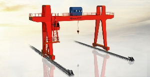 Outdoor Industrial Heavy Load Large Span U Frame Movable Double Girder Beam Gantry Cranes