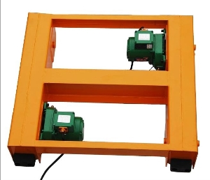 Double Girder Crane Hoist Trolley with 20t Capacity, Two-Track Electric Rail Trolley