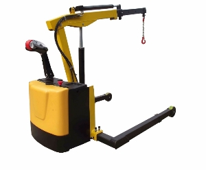 3t Small Workshop Manual and Electric Hydraulic Mobile Counterbalance Floor Crane