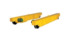 5 Ton Single Girder Bridge Under Slung or Underhung Crane End Truck with Wheel Blocks Group Assembly