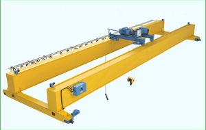10t 20t 32t 50t Top Running Mobile Double Beams Girder Overhead Bridge Crane with Electric Hoist