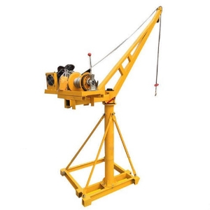 Ce/ISO9001 500kg Small Mini Construction Portable Manual/Electric/Diesel Crane with 25m Lifting Height