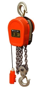 220V Wireless Remote Control Dhs Type Cheap 3t 6m High Duty Mini Electric Lifting Chain Hoist with Compact Body