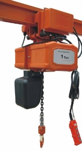 Hhbb1 Ton Single Phase 60Hz 220V Double/Single Speed Electric Chain Hoist with Wireless Remote Control or Control Pendant
