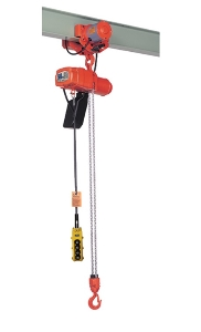 Stationary or Fixed Type Hhxg Push Fast Motor Lifting Hoist 1.5 Ton 2 Ton 3m 220V 380V with Schneider Contactor, Top Grade Ce Proved