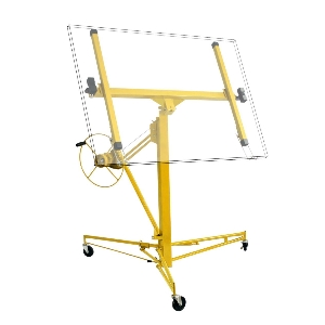 Professional Frame Steel Panel 4 Inch PP Wheel 11' 16' Drywall Panel Lifter