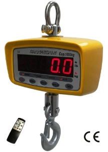 Remote Controlled Heat-Resistant Hanging Hook Mini Ocs Crane Electronic Digital LCD Luggage Weighing Scale