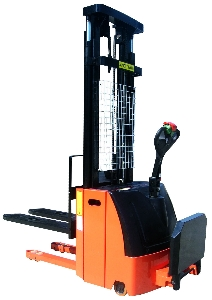 2 Ton Hydraulic Electric Pallet Stacker with Optional Lifting Height
