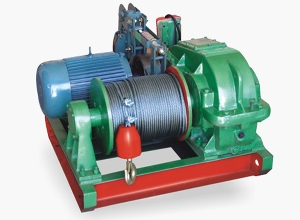 Electric anchor windlass winch for shipping building industry