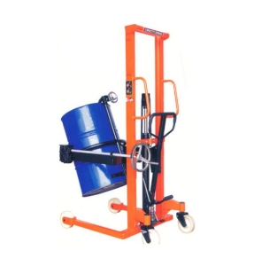 Hand Operated Hydraulic Manual Drum Lifter 300kgs 400kgs 450kgs 520kg Manual Hydraulic Drum Stacker
