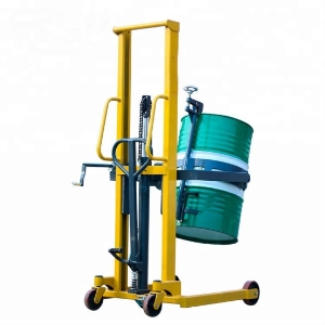 Manual Hand Hydraulic oil drum stacker for good price