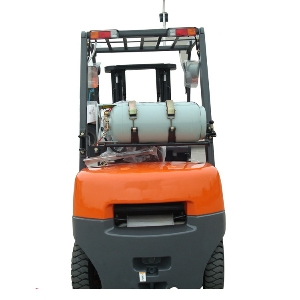 Four-wheel counterbalanced weight electric forklift for Warehouse Container