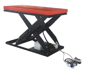 Heavy duty portable electric hydraulic fixed scissor lift table