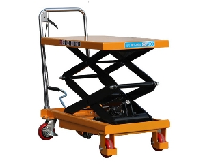 Manual lift table customized available manual mobile pallet lift made in china