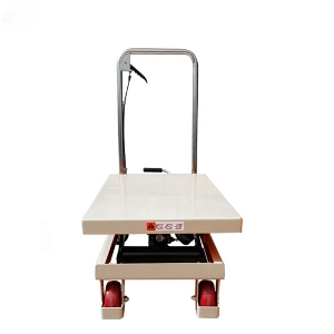 150KG Light Weight Mobile Hydraulic Mechanical Scissor Lift Trolley