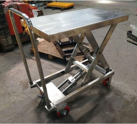 Manual portable lift table hydraulic scissor mini scissor