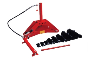 China 12 Ton hydraulic Plumber Fitters Pipe Bender with 6 Dies