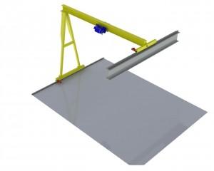 Single Girder Gantry Crane china1-17.jpg