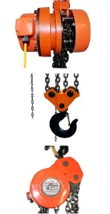 China manufacturer DHP type electric chain hoist for group lifting