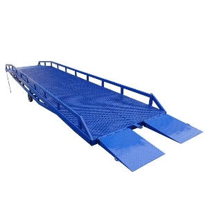 Hydraulic Warehouse Mobile Container Load Yard Ramp for Sale