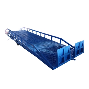 10t Container Loading&Unloading Load Ramp Hydraulic Mobile Yard Ramps