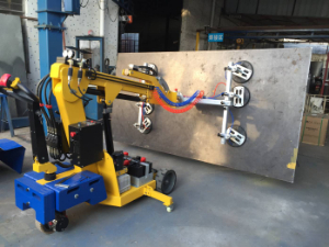 Main Specifications and components of Vacuum Glass Lifter Robot (VGL 400)