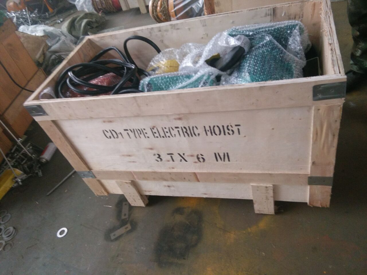 China CD1 Electric Wire Rope Hoists for sale1-8.jpg