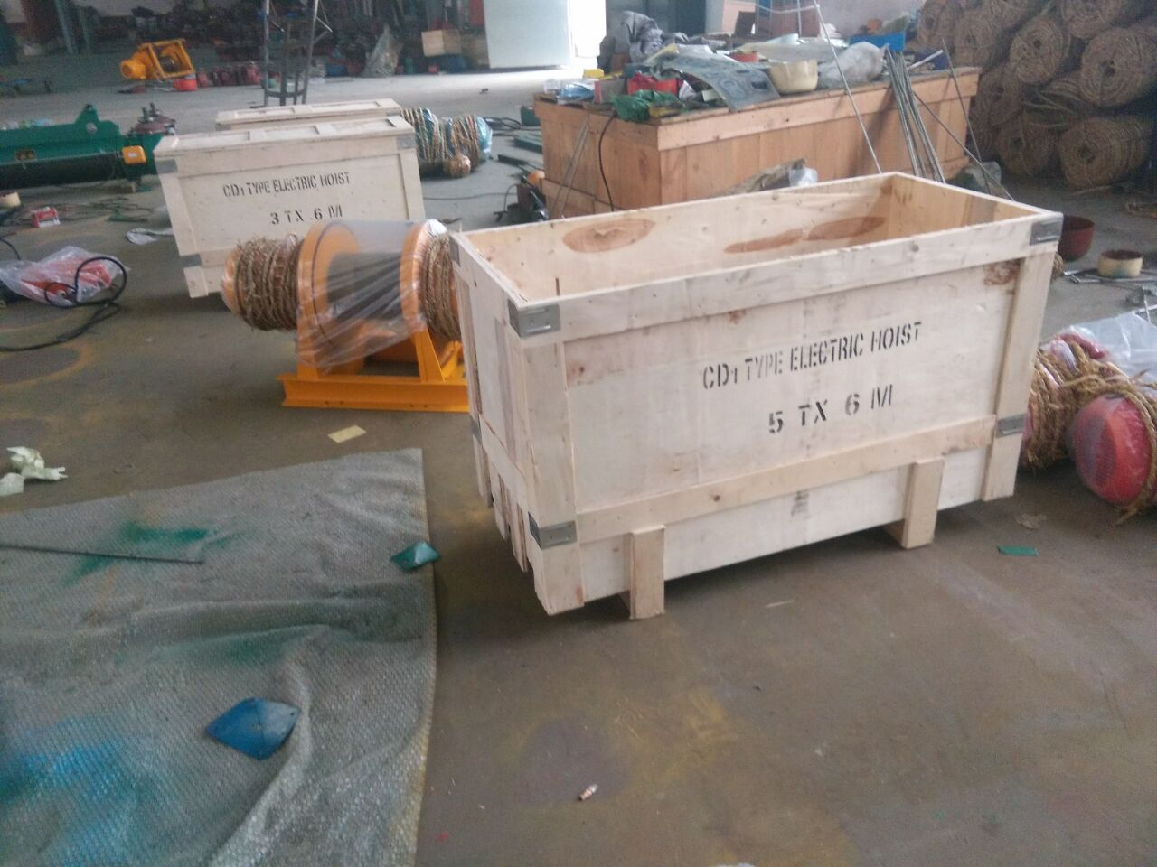 China CD1 Electric Wire Rope Hoists for sale1-6.jpg