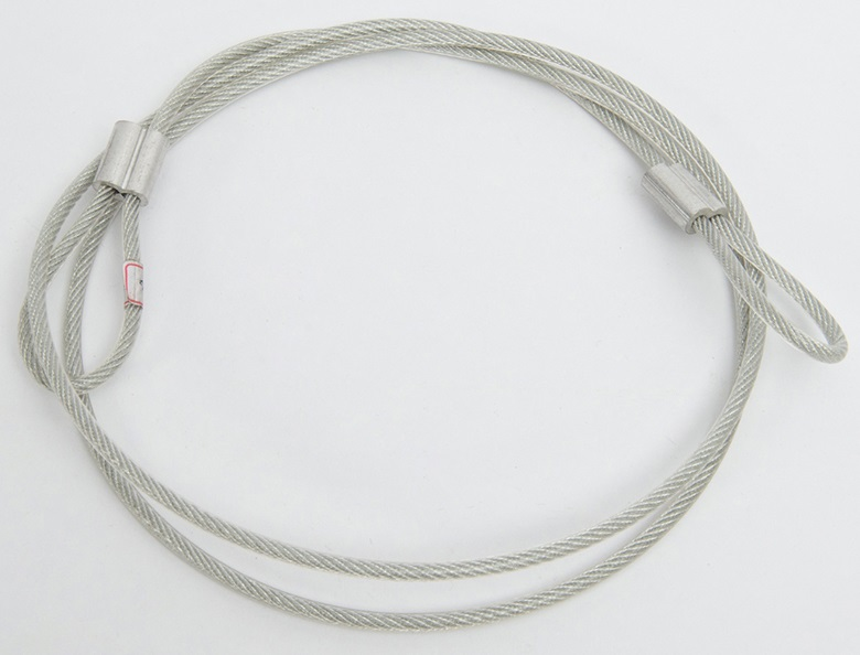 PVC Coated Galvanized Steel Wire Rope Sling with Plastic Thimble1.jpg