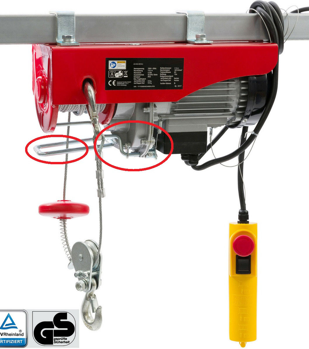 small red circled is up limit switch, while big red circled is down limit switch.jpg