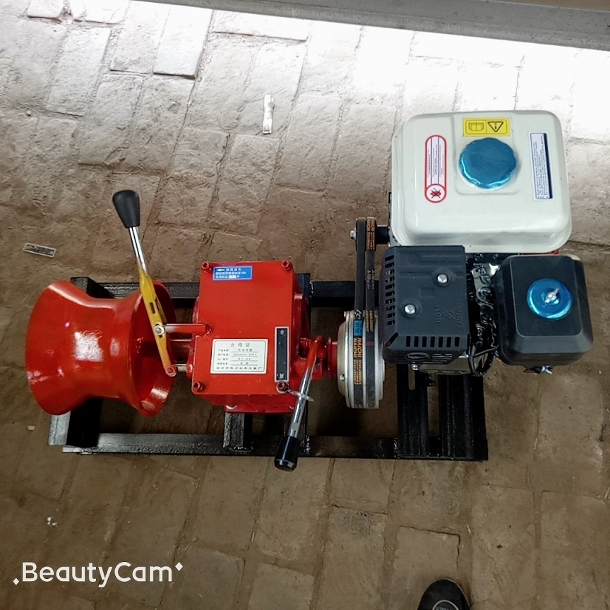 Winches powered by gasoline engine 1ton-4.jpg
