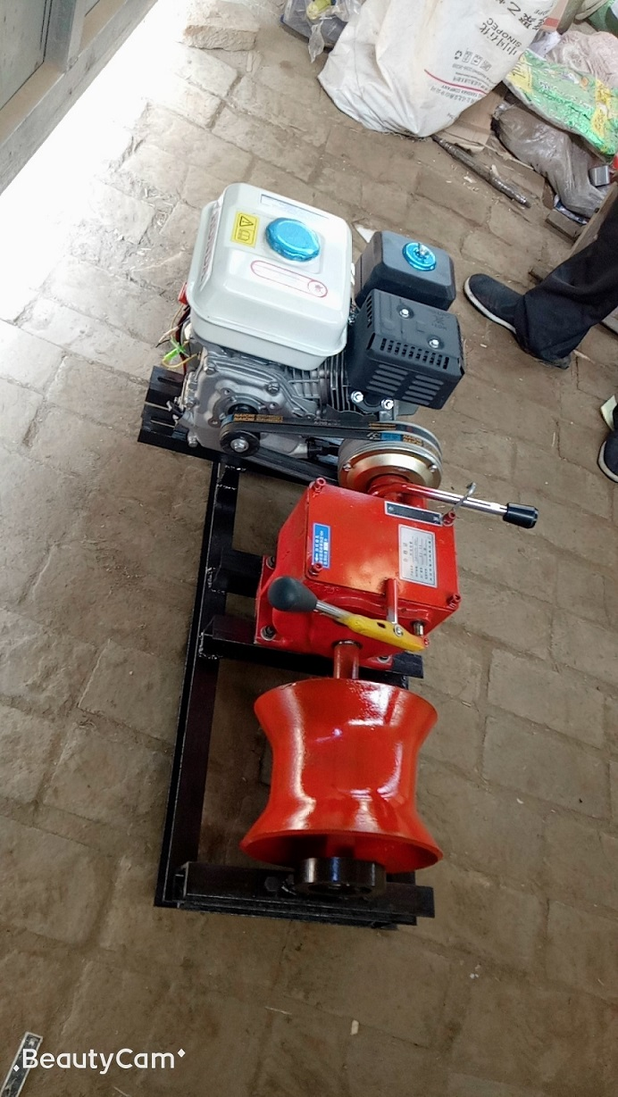 Winches powered by gasoline engine 1ton-8.jpg