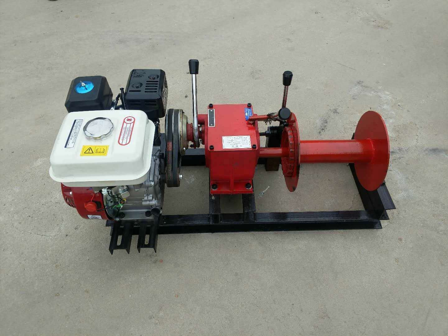 Winches powered by gasoline engine 1ton-14.jpg
