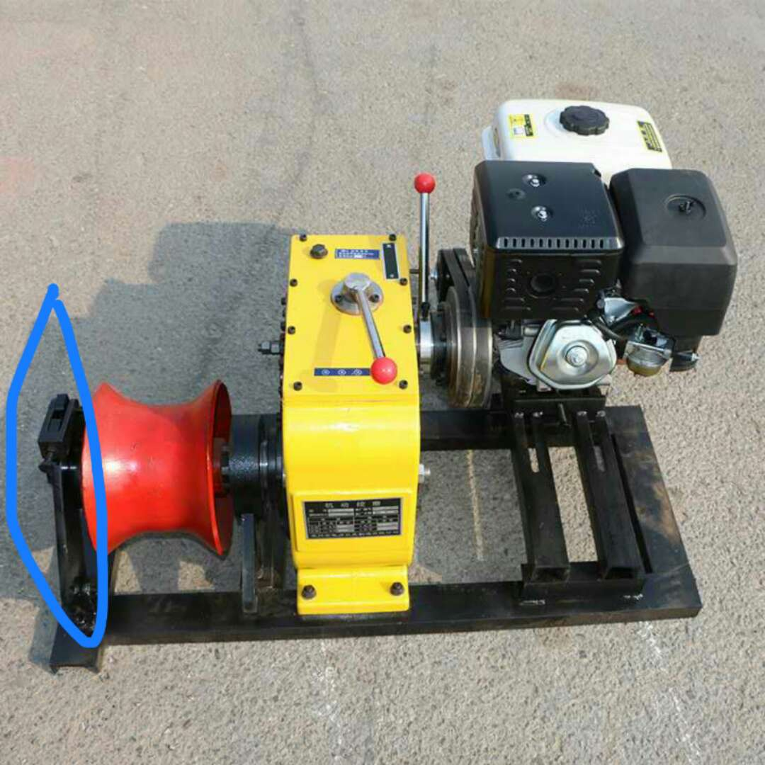 Winches powered by gasoline engine 3ton-4.jpg