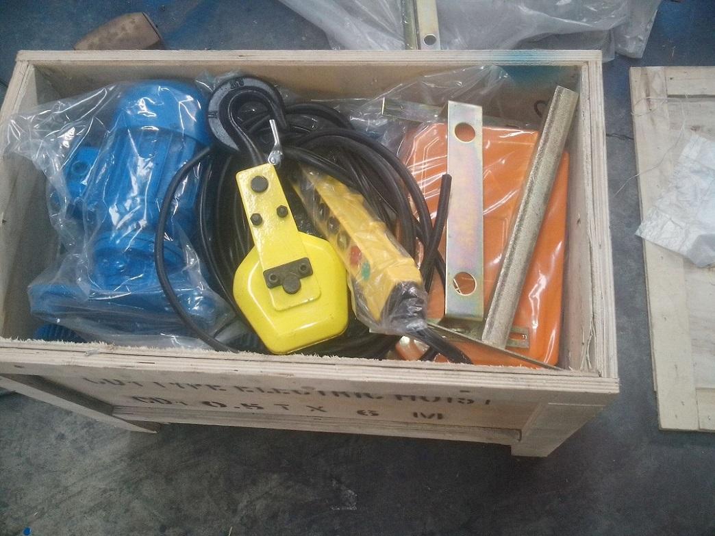 Site photos of Electirc wire rope hoist 2-ton, 3-ton, 5-ton2.jpg