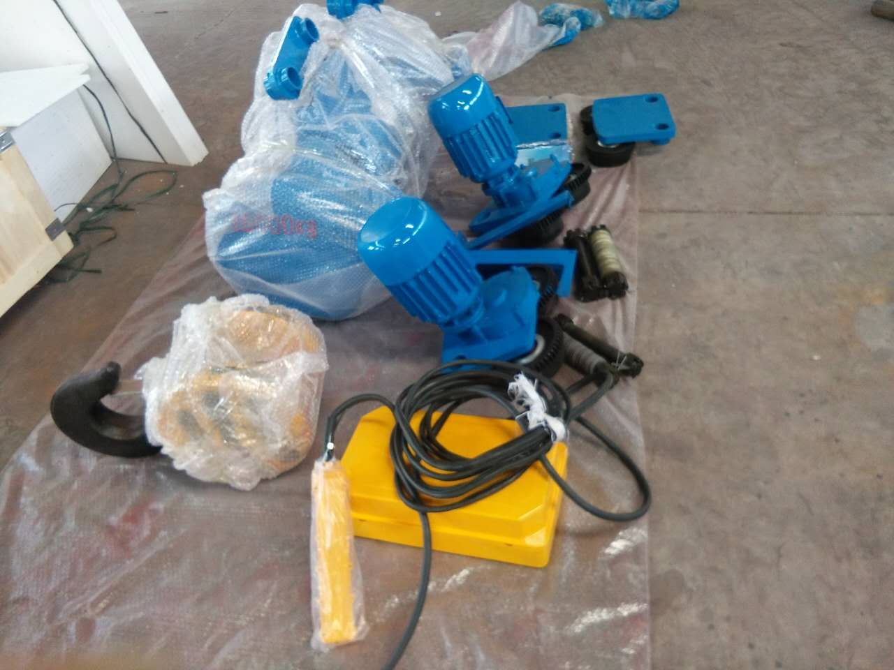 Site photos of CD1/MD1 electric wire rope hoists4.jpg