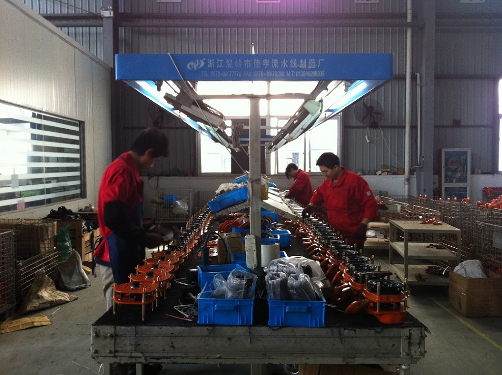 Workshop of chain hoist and lever hoist16.jpg