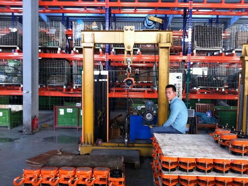 Workshop of chain hoist and lever hoist25.jpg