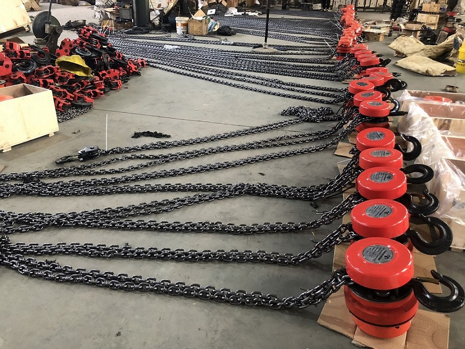 5 ton DHP type group lifting electric chain hoist with Control Cabinet14.jpg
