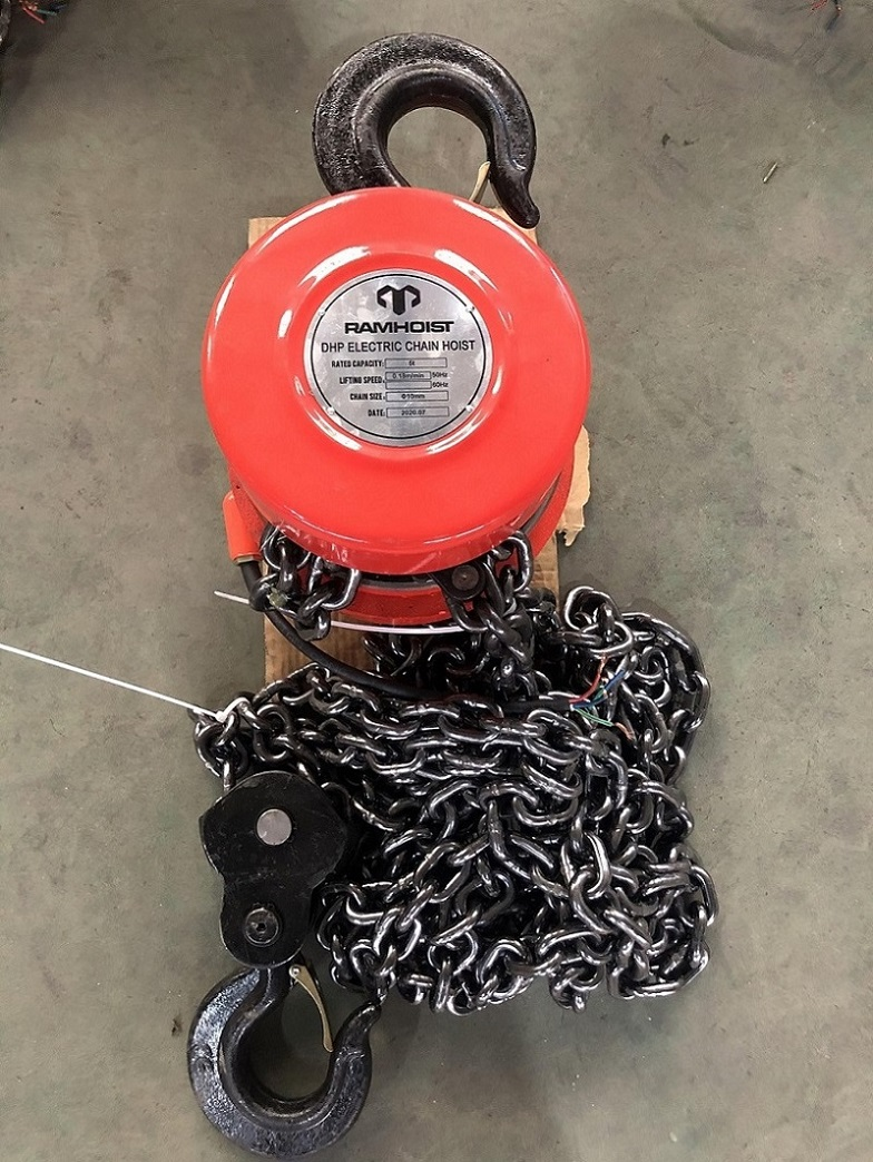 5 ton DHP type group lifting electric chain hoist with Control Cabinet19.jpg