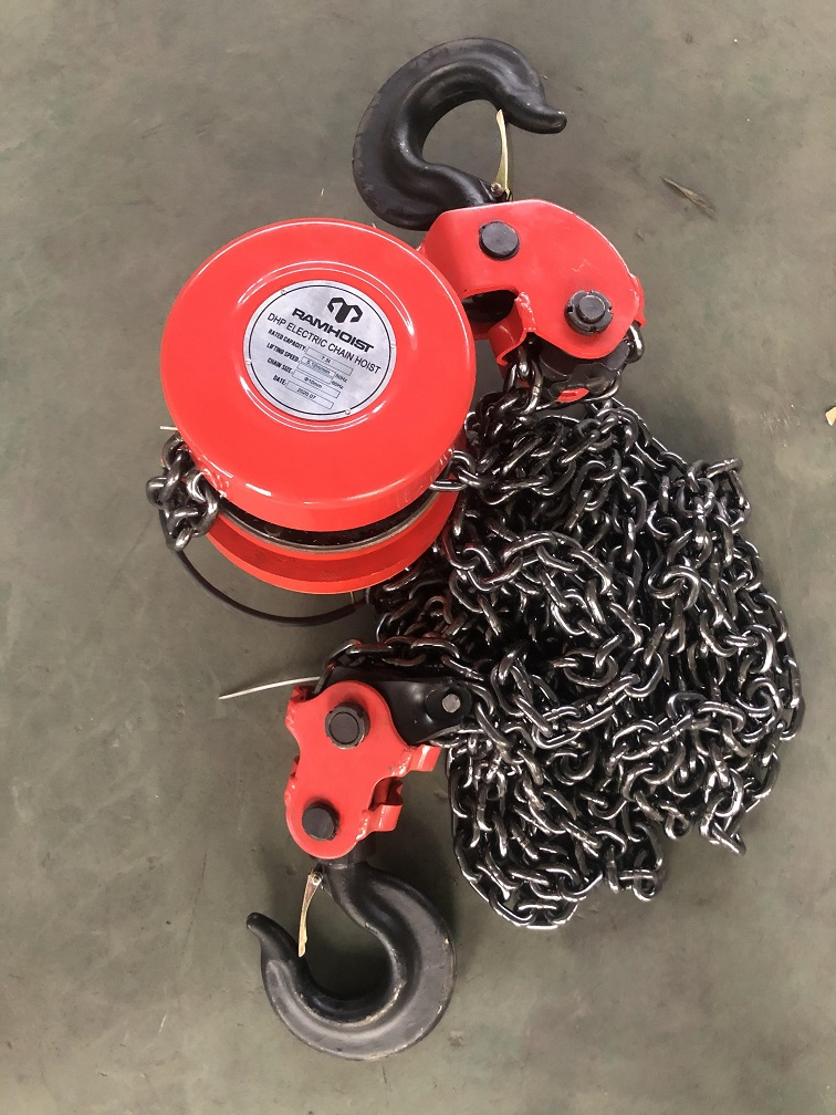 7.5 ton DHP type group lifting electric chain hoist with Control Cabinet9.jpg