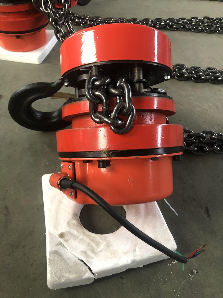 7.5 ton DHP type group lifting electric chain hoist with Control Cabinet12.jpg