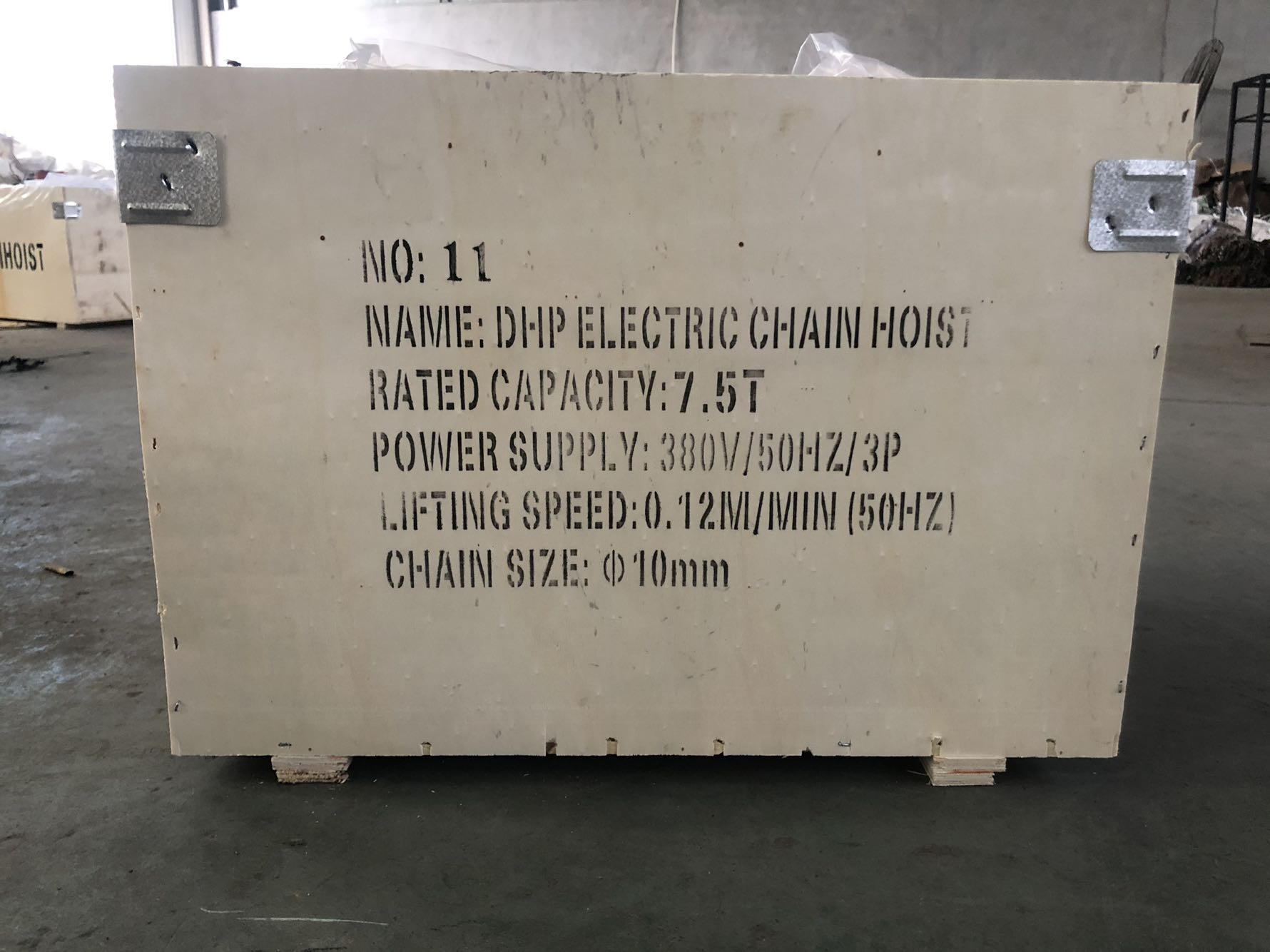 7.5 ton DHP type group lifting electric chain hoist with Control Cabinet14.jpg